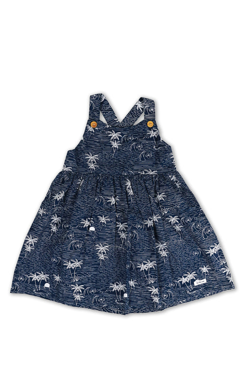 Crisscross Dress Navy