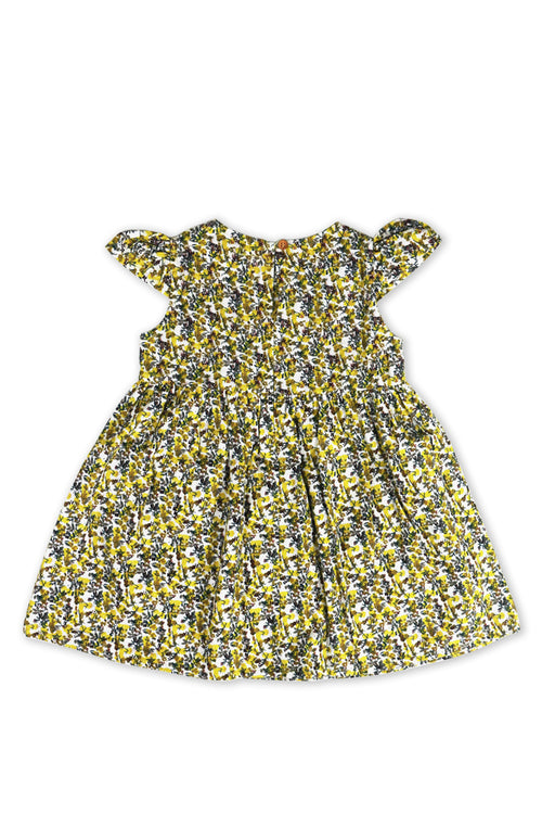 Swan Dress Yellow