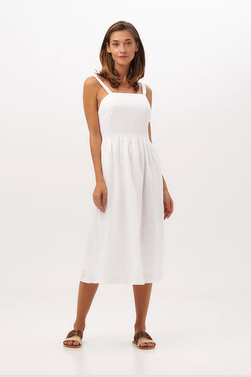 Ondine Tube Linen Dress - By The Sea Bali