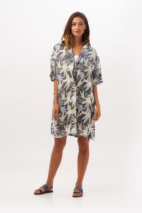 By The Sea Bali Sabina Linen Outer