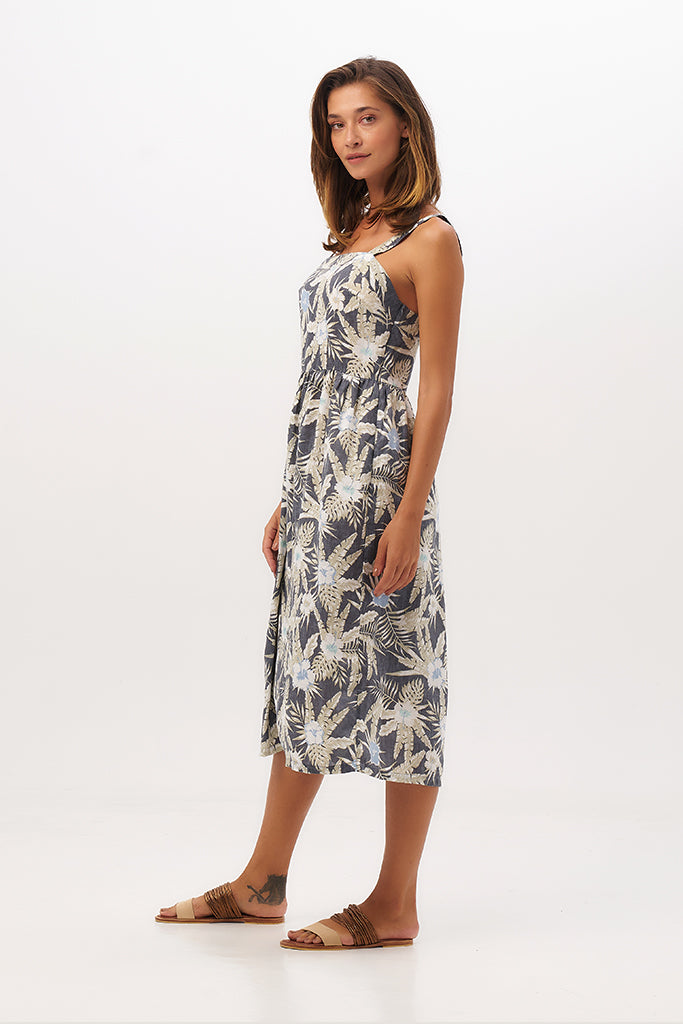 By The Sea Bali Ondine Tube Linen Dress