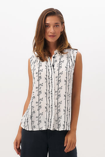 By The Sea Bali Guinea Sleeveless Shirt
