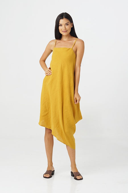 Egret Sleeveless Dress