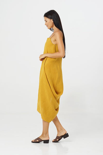 Harp Linen Dress - By The Sea Bali
