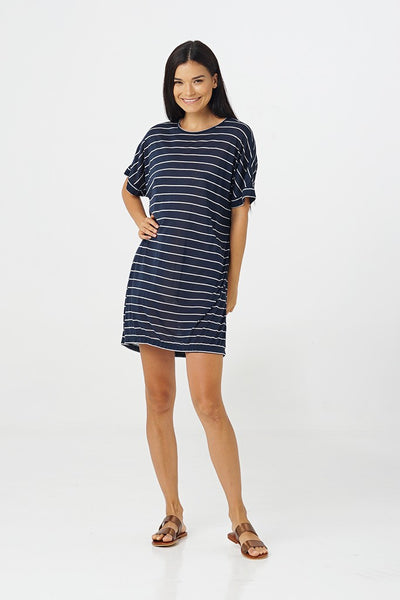 By The Sea Bali Kala T-shirt Dress