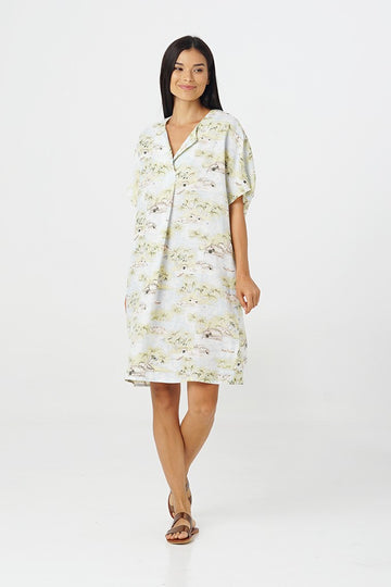 By The Sea Bali Padar Linen Dress