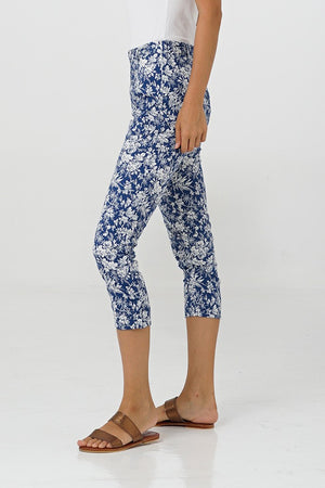 By The Sea Bali Haley Cropped Pants