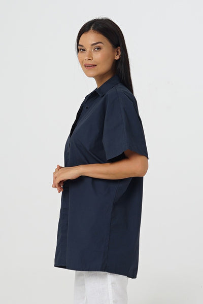 By The Sea Bali Nahla S/S Oversized Shirt