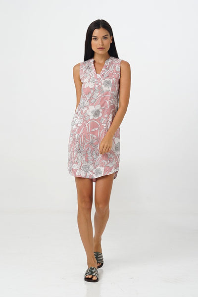 By The Sea Bali Egret Sleeveless Dress