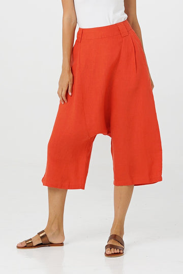 By The Sea Bali Audra Linen Pants