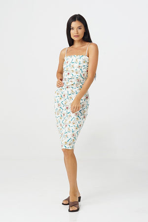By The Sea Bali Hali Cowl Dress