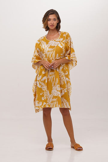 By The Sea Bali Eldoris Short Kaftan