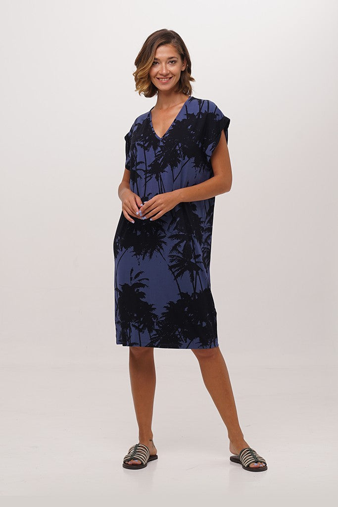 By The Sea Bali Myrtle T-shirt Dress