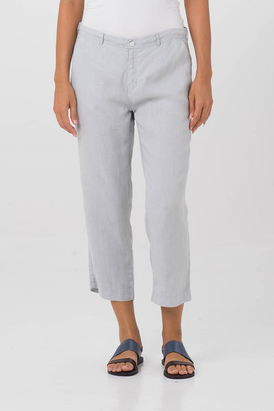 Chiara Linen Pants Grey - By The Sea Bali