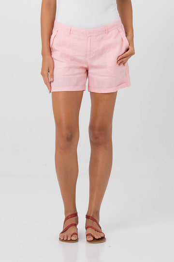 By The Sea Bali Linen Short Pink