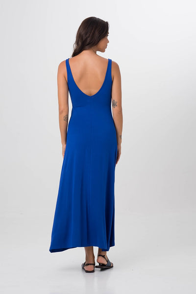 Roxas Low Back Maxi Dress