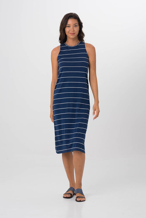 By The Sea Bali Caprera Dress Navy