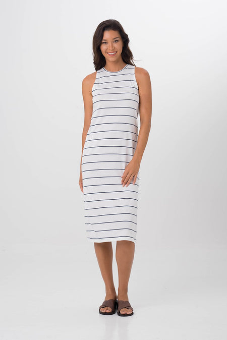 Formosa Maxi Tube Dress Brick