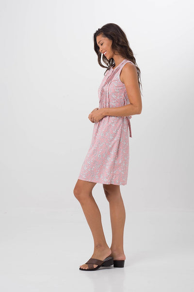 By The Sea Bali Garden Dress Pink