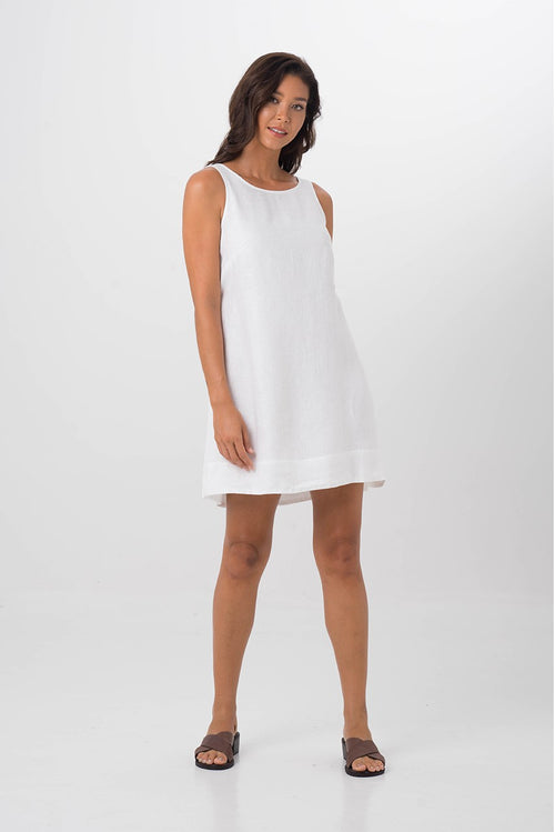 By The Sea Bali Grenada Dress White