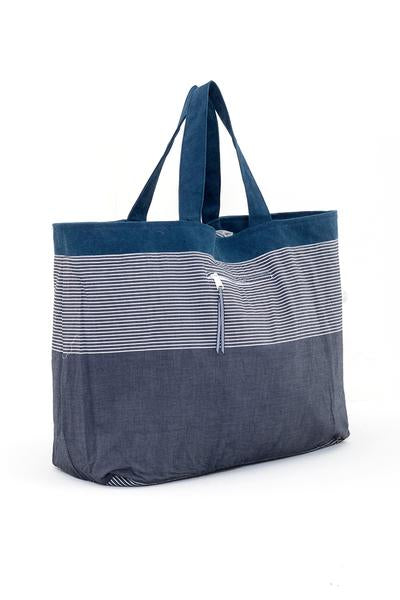 Lora Oversize Bag Grey Inside - By The Sea Bali