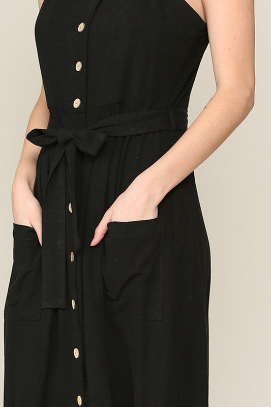 The Fresh Start Dress - In Black - The Darling Style - Modest Dresses