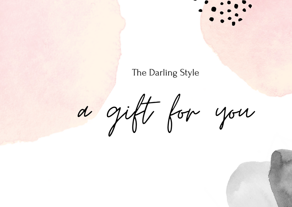Digital Gift Card - The Darling Style