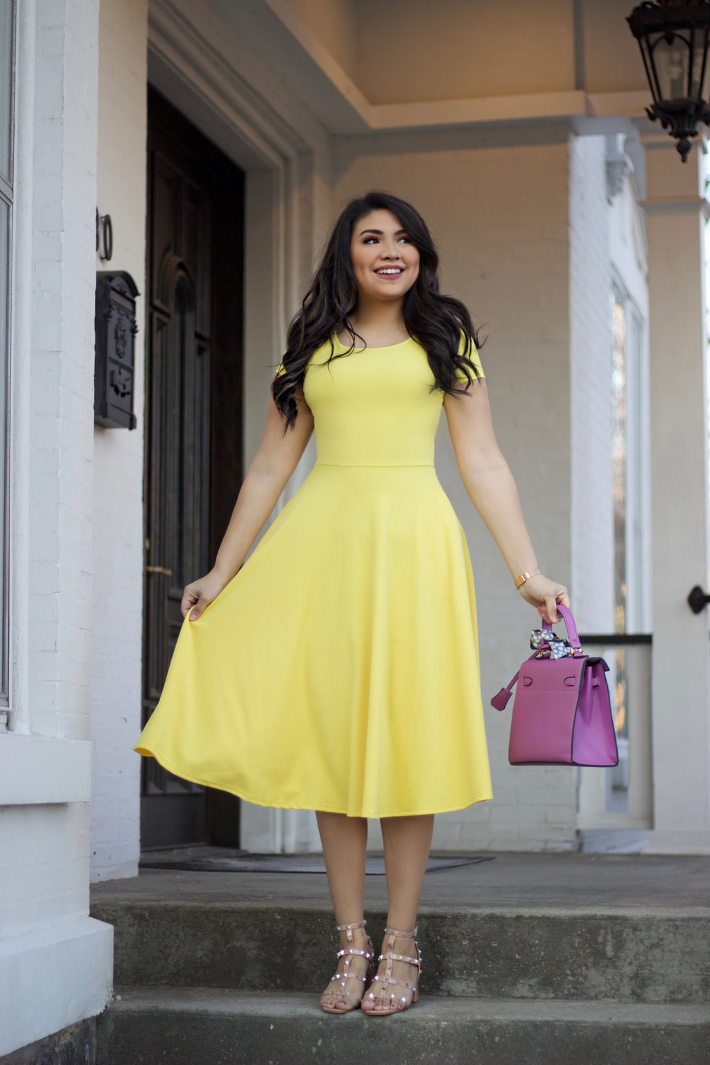 Ray Of Sunshine Dress - The Darling Style - Modest Dresses
