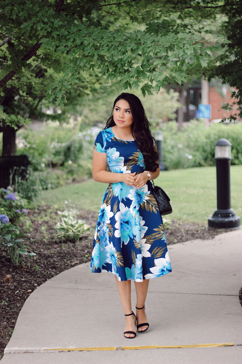 The Diana Swing Dress - The Darling Style - Modest Dresses