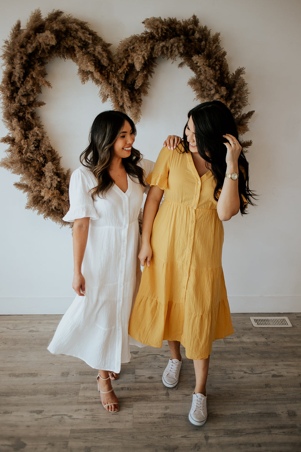 Belinda Dress - In Mustard - The Darling Style - Modest Dresses