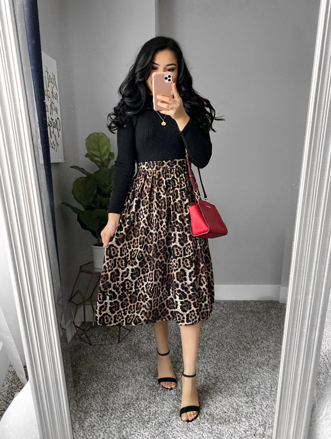 Belize Animal Print Dress
