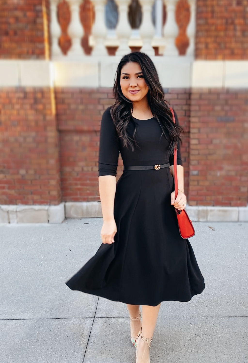 All Mine Classic Dress - In Black - The Darling Style - Modest Dresses