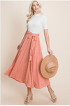 The Row Dress in Coral
