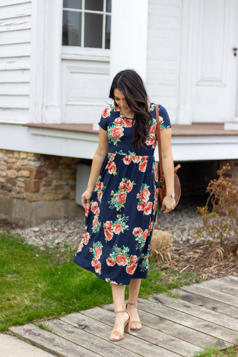 Grace Hill Dress - The Darling Style - Modest Dresses