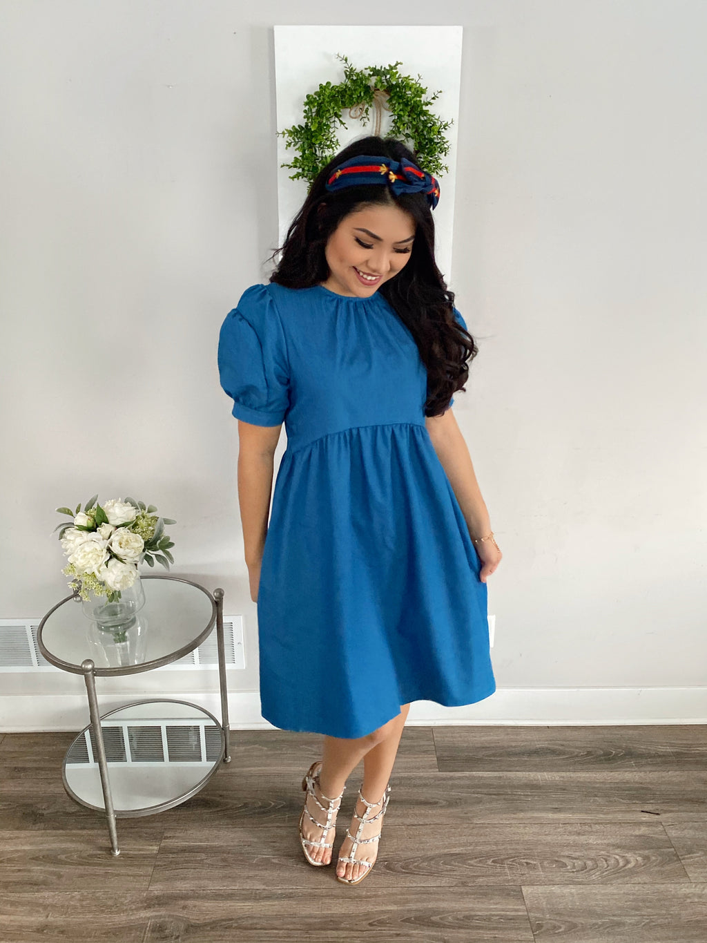 The Darling Denim Dress