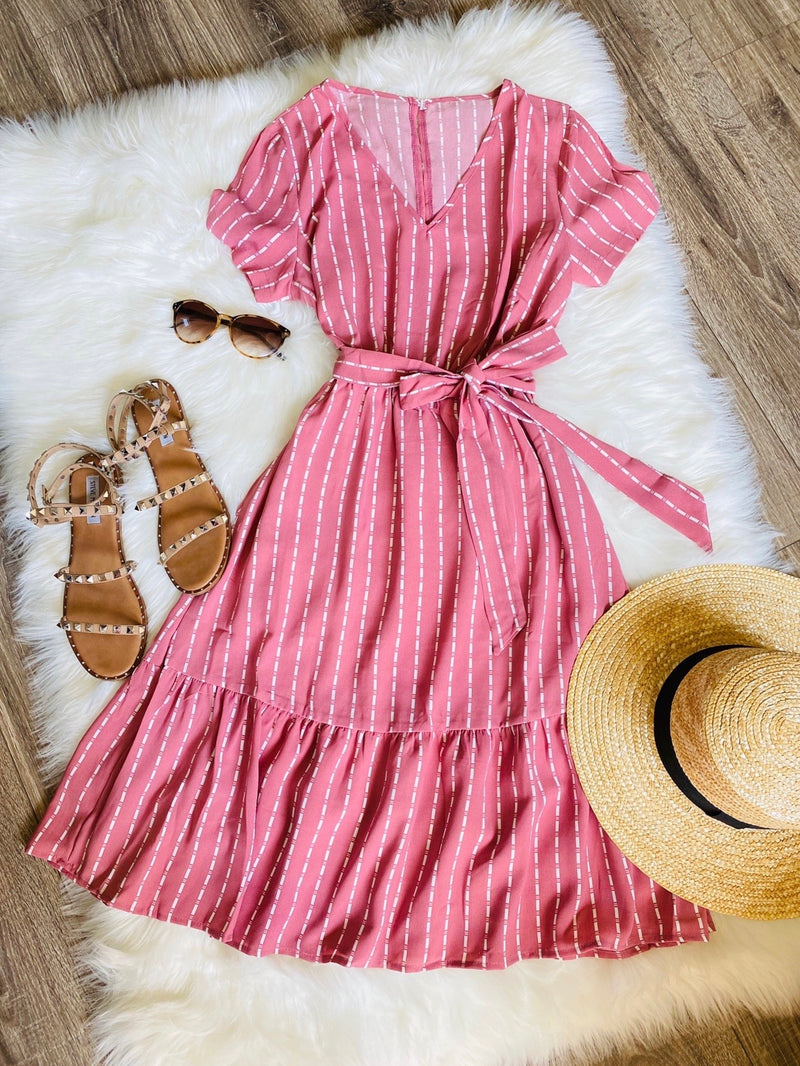The Charming Dress - In Pink (Pre-Order Ships Out July 6th) - The Darling Style