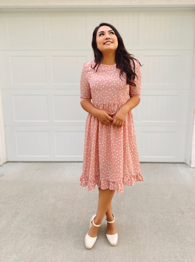 Happy Days Ahead Dress - The Darling Style - Modest Dresses