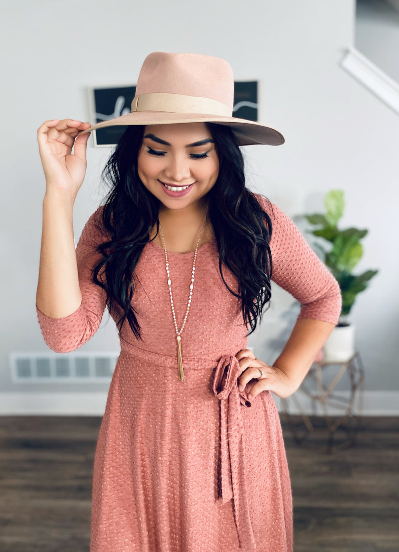Big Dreams Dress - Mauve - The Darling Style - Modest Dresses