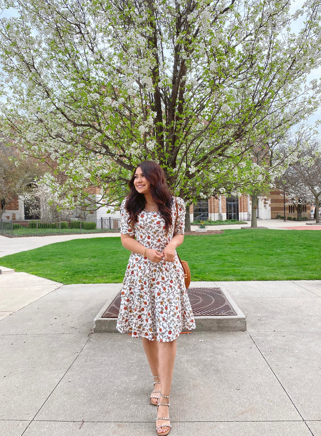 The Ivy Floral Dress