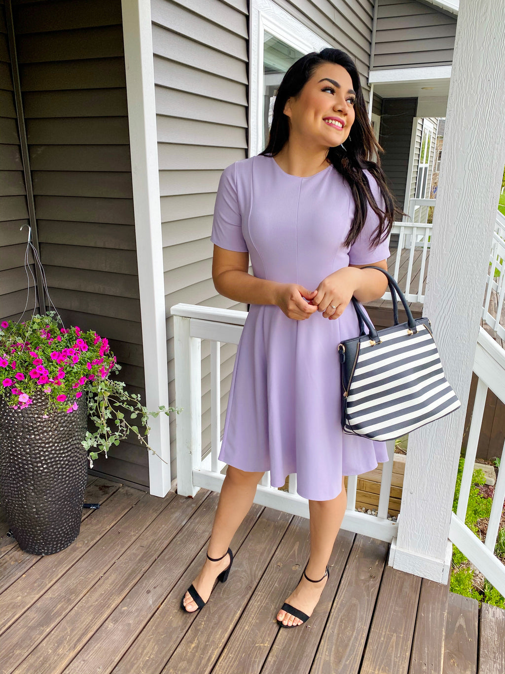 Sophia Dress - Lilac - The Darling Style
