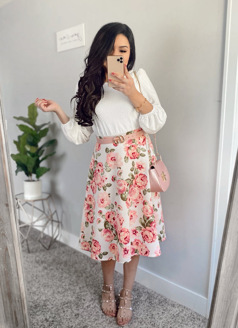 The Sarah Floral Skirt (Exclusive)