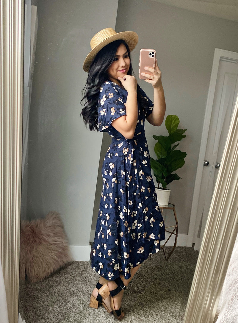 All In Time Floral Dress