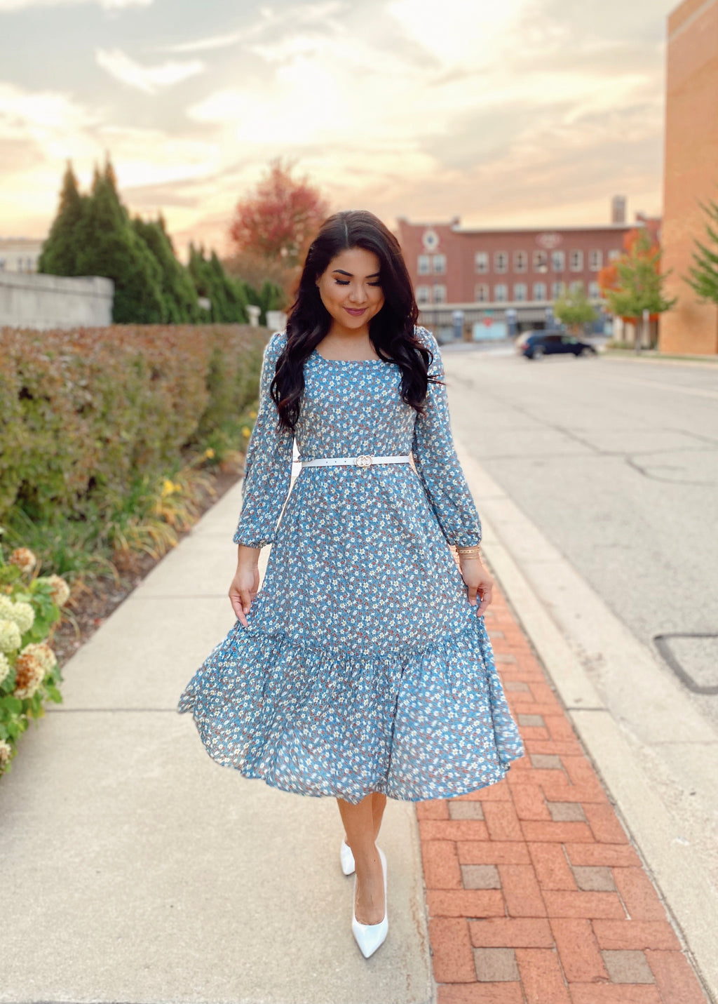The Jasmine Dress - In Sage - The Darling Style - Modest Dresses