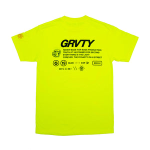 GRVTY Technical Tee (Neon Fever)