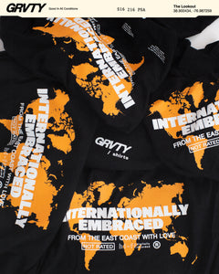 GRVTY 'Internationally Embraced' Tee