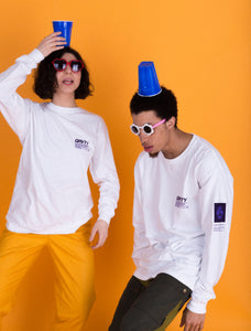 GRVTY Works Official Issue Long Sleeve (White)