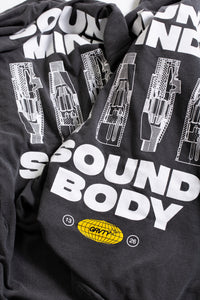 "GRVTY ""Sound Mind / Sound Body"" L/S (Pepper Gray) - GRVTY"