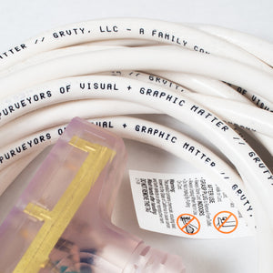 GRVTY Electrical Intestines (White) - GRVTY