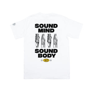 "GRVTY ""Sound Mind / Sound Body"" Tee - GRVTY"