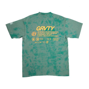 GRVTY Technical Tee (Electric Sage Dye) - GRVTY